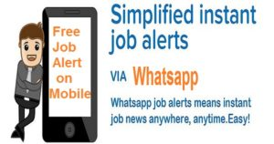 freejobalert, Free Job Alert, Job Alert, Jobalert, free Job alert on mobile
